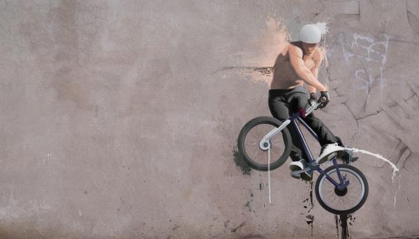 BMX, the freestyle contest