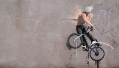 BMX, the freestyle contest