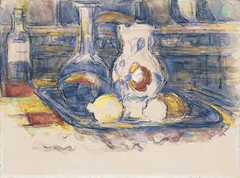 Bottle, Carafe, Jug and Lemons
