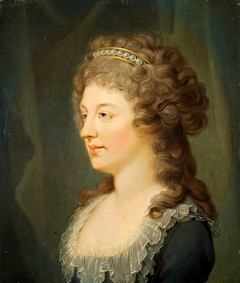 Charlotte Stuart, Duchess of Albany, 1753 - 1789. Daughter of Prince Charles Edward Stuart