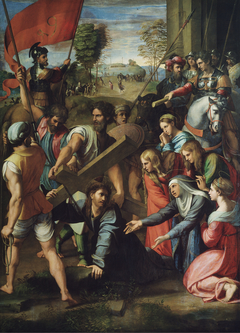 Christ Falling on the Way to Calvary