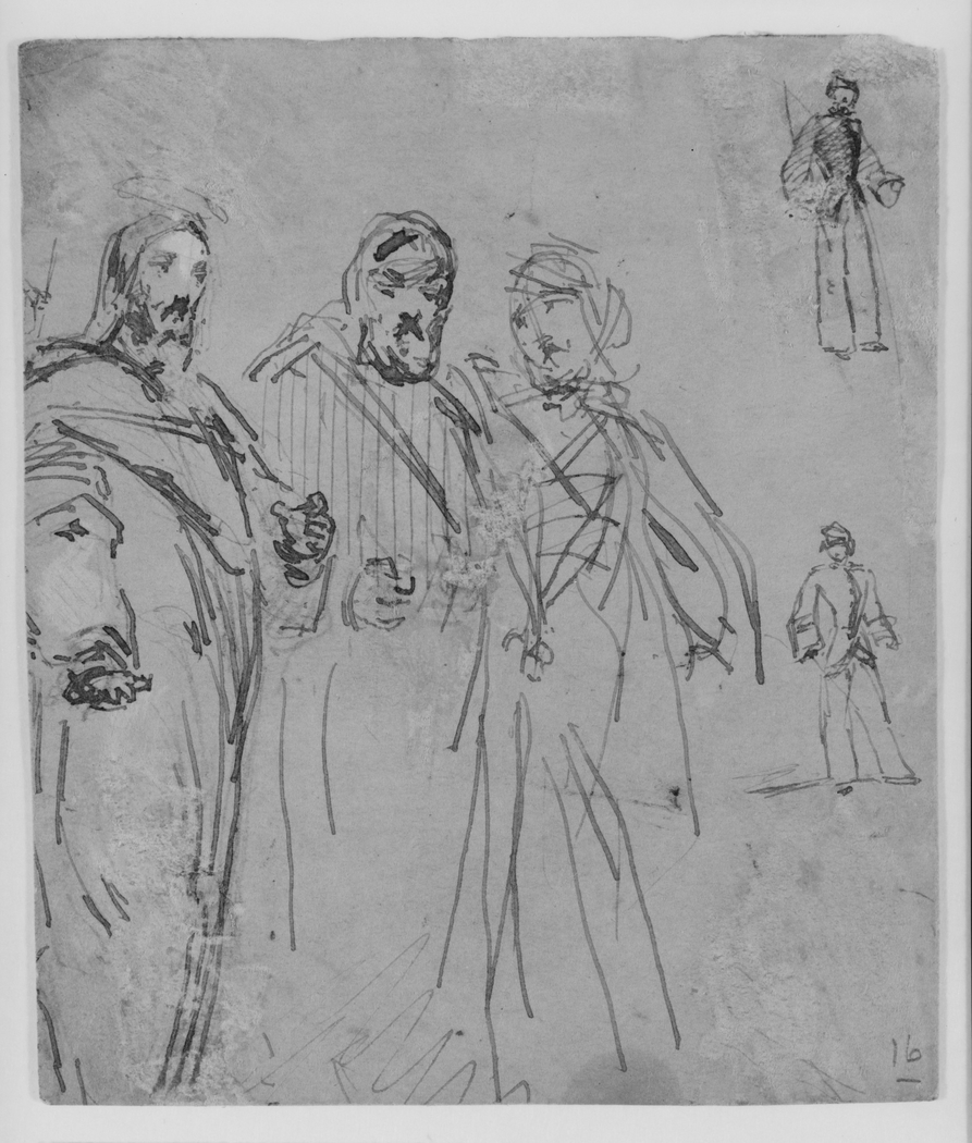 Church Scene (from Sketchbook)