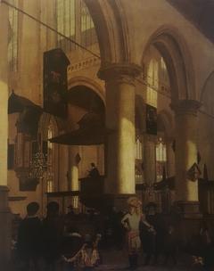 Church Service in Delft