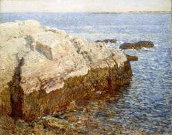 Cliff Rock - Appledore