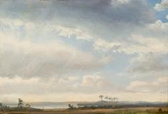 Clouds over a Coastal Landscape