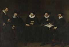 De hoofdlieden van de Saainering te Amsterdam, 1643