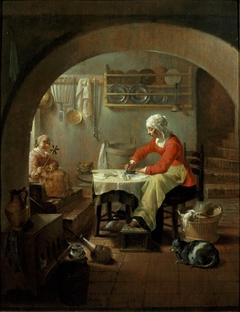 De strijkster