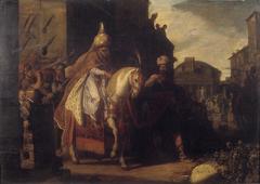 De triomftocht van Mordechai