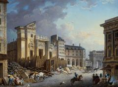 Demolition eglise St-Bartelemy