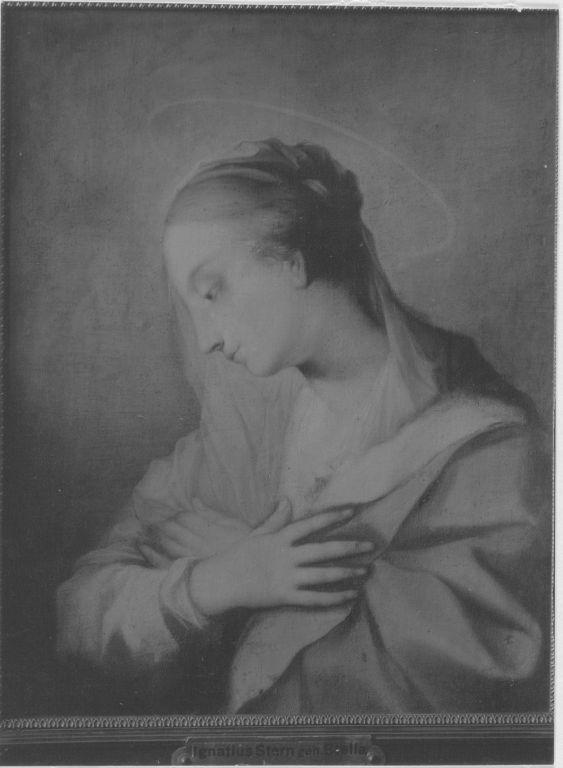 Die hl. Maria