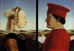 Diptych of Federico da Montefeltro and Battista Sforza