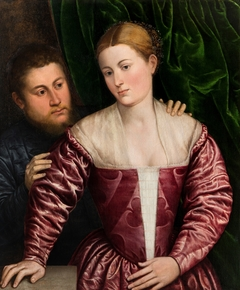 Double Portrait of a Venetian Woman and her Cavalier
