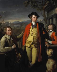Douglas Hamilton, 8th Duke of Hamilton and 5th Duke of Brandon, 1756 - 1799 (with Dr John Moore, 1730 - 1802, and Sir John Moore, 1761 - 1809, as a young boy)