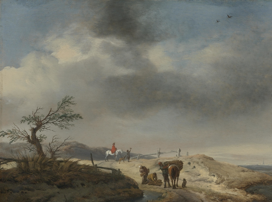 Dune Landscape with Figures