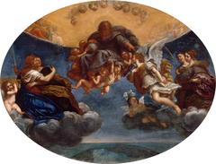 Eternal Father and Archangel Gabriel