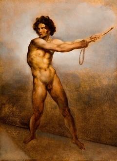Étude d'un homme nu
