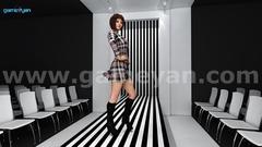Fashion catwalk model animation by Film Production Company