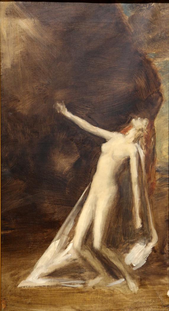 Femme nue debout