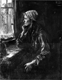 Fisherman's Wife at the Window