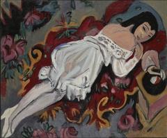 Girl in WhiteChemise