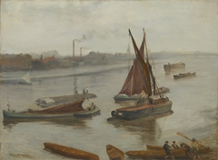 Grey and Silver: Old Battersea Reach