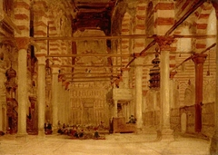 Interior of the Mosque of Metwalis, Cairo