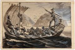 Isles de Sa. Anna Debarquement d'esclaves nègres