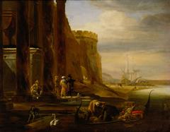 Italienischer Seehafen
