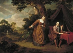 Jacob Cats and Cornelia Baars in a Landscape