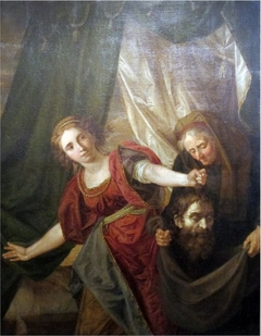 Judith with the Head of Holofernes and her Maid