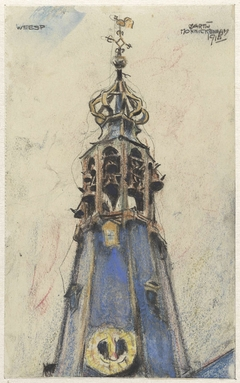 Kerktoren te Weesp