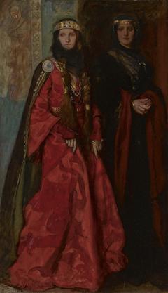 King Lear: Goneril and Regan (Act I, Scenei)