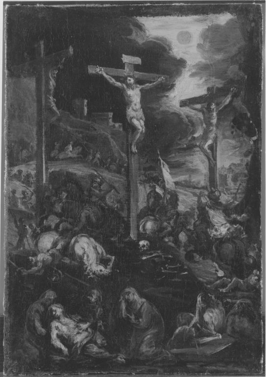 Kreuzigung Christi (Kopie nach dem Altarbild der Münchner Augustinerkirche) (Kopie nach)