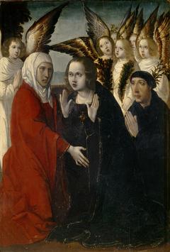 La Visitación de la Virgen a Santa Isabel