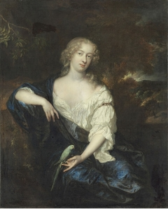 Lady with a Parakeet