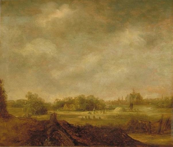 Landscape with Cornfield