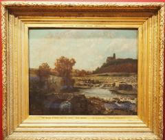 Landscape, with the Chatel St Denis, Scey-en-Varais