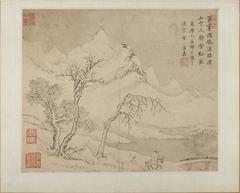 Landscapes (Shanshui huace 山水畫冊)