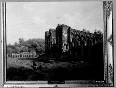Landschap met ruïne van abdij te Villers