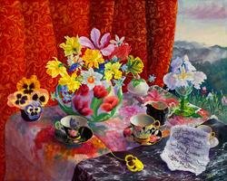 Like Flowers for Tea