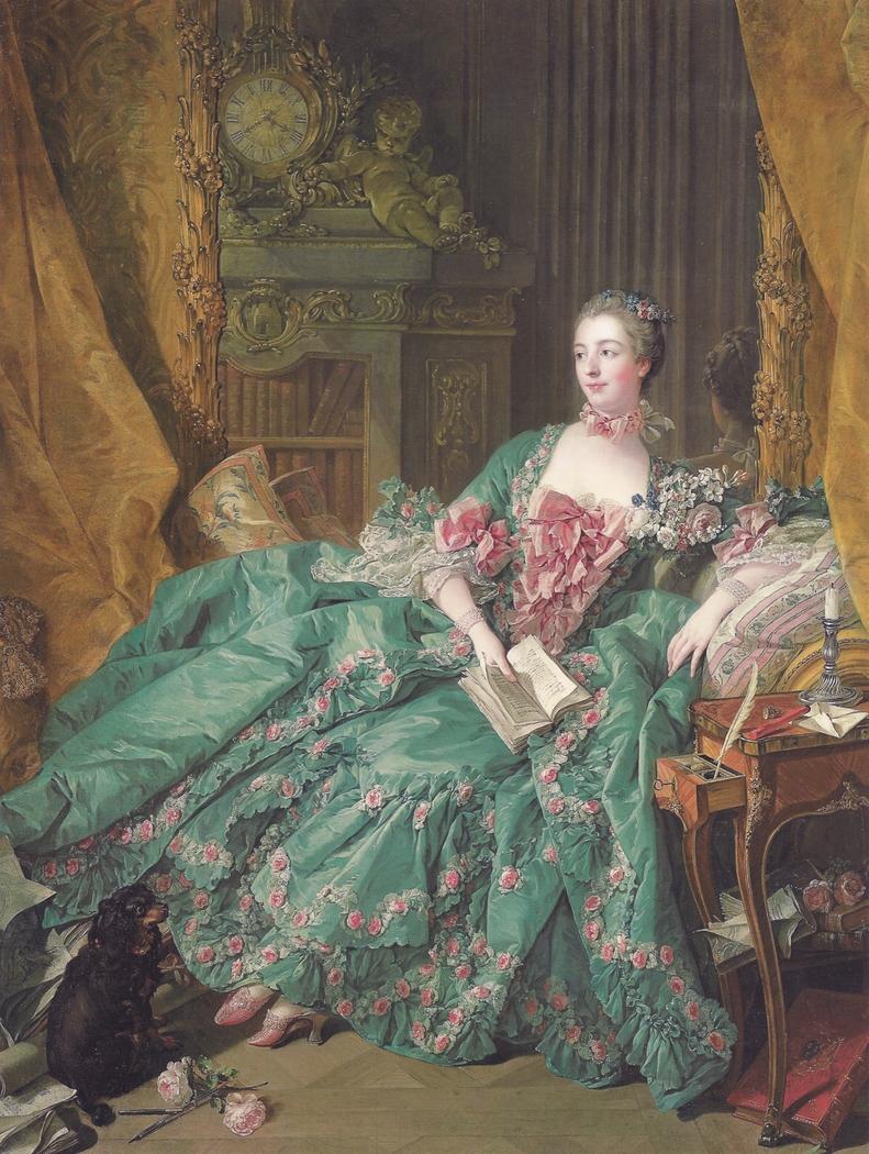 Portrait of Madame de Pompadour (1721-1764)