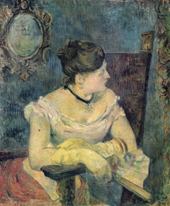 Madame Mette Gauguin in Evening Dress