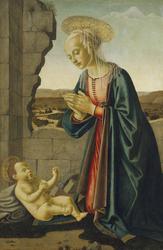 Madonna Adoring the Christ Child