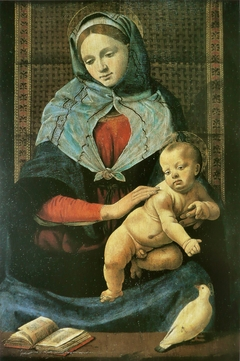 Madonna and Child with a Dove