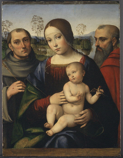 Madonna and Child with Saints Francis and Jerome