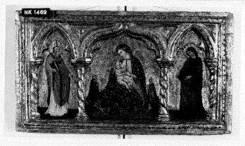 Madonna met heiligen en stichters