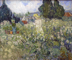 Miss Gachet in her garden at Auvers-sur-Oise