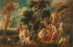 Marsyas punished by the Muses