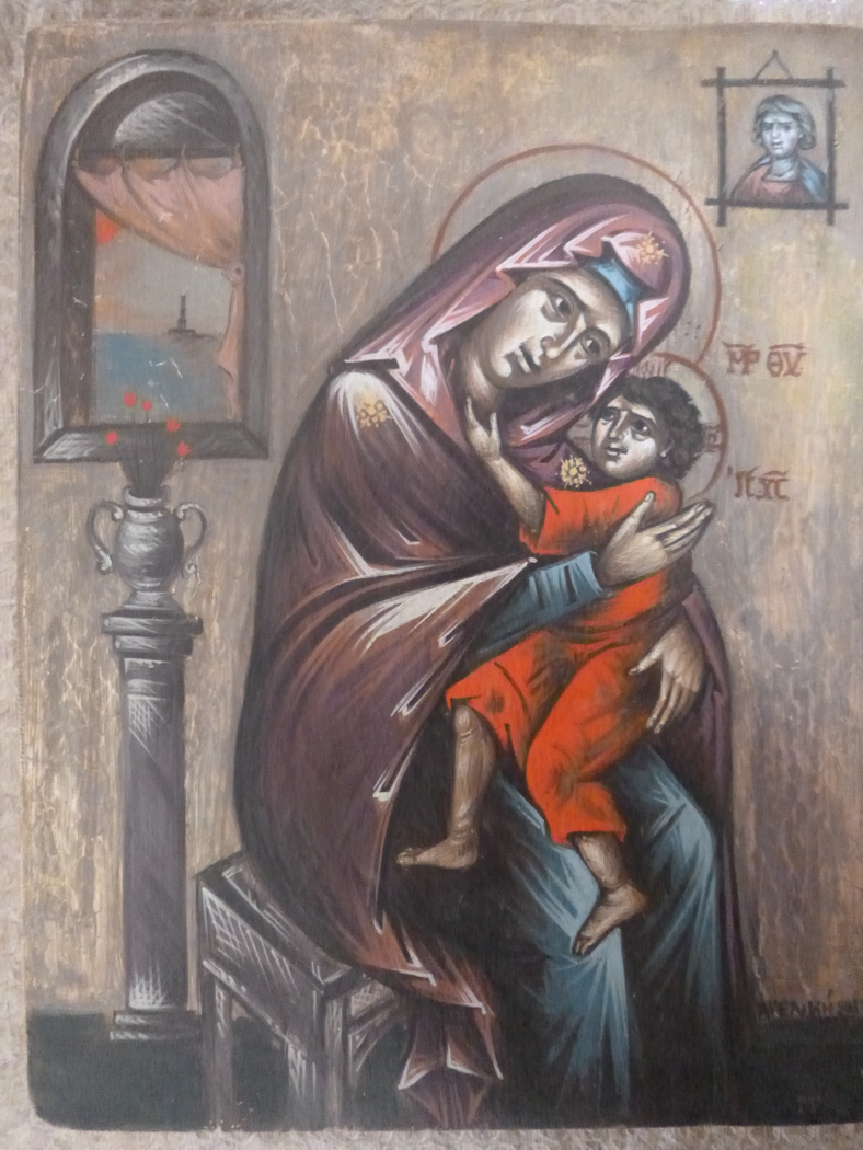 Mary ang Jesus in Egypt