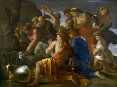 Moses Sweetening the Bitter Waters of Marah